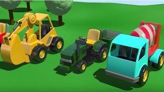 Мультфильмы для детей. 3D мультик На Детской Площадке все серии подряд.