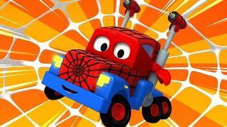 Грузовик паук - Трансформер Карл в Автомобильный Город
