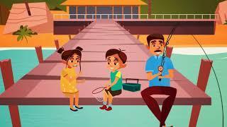 Вождение В Моей Машине Детские Песни Детские Рифмы От Смешных Детей Анны  ep 215