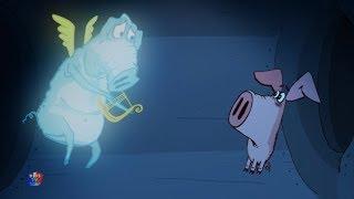 Поросёнок мультфильм | Фильм 5-й - Призрак | детские смешные мультфильмы | Piglet | The Ghost