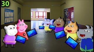 Мультики свинка на русском cartoon for kids 30 ЧТО С БАРБИ Мультфильмы для детей Свинка