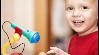 Видео обзоры игрушек -  Микрофон