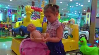 Кукла Беби Бон и #Алиса играют на детской площадке под детские песенки