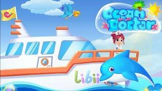 Мультик игра для детей. Игра доктор лечит животных в океане. Детские Мультфильмы