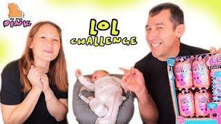 LOL Challenge! НЕ РАЗБУДИ СТИВЕНА - #ЛОЛ ЧЕЛЛЕНДЖ для детей/ Май Тойс Пинк