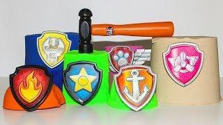 Щенячий патруль новая серия Сюрпризы с игрушками Видео для детей Развивающие мультики про игрушки