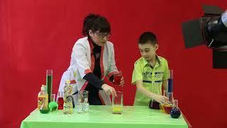 Разноцветная четырёхэтажка | Научное шоу профессора Стекляшкиной | Курган