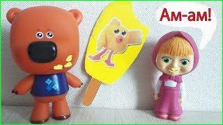 Маша и Медведь Лучшие серии с Мимимишками - Сборник мультиков для детей