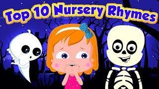 топ 10 детские стишки | Top Ten Nursery Rhymes | Umi Uzi Russia | русский мультфильмы для детей
