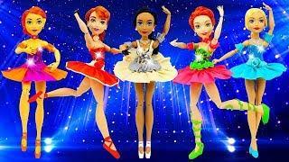 SuperHero Girls New Play Doh Ballerina Dresses For Dolls ❤ DIY For Kids