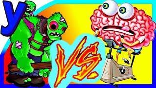 СУПЕР БИТВА! Мозги ПРоХоДиМЦа против Зомби ГАРГАНТЮА #336 Мультик ИГРА Детям - Растения против ЗОМБИ