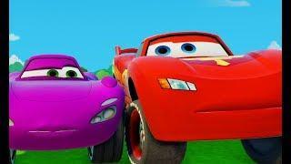 Про Машинки Гонки Тачки Молния Маквин и Холли Мультик игра для детей #МАШИНКИ Disney Pixar Cars