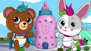Bottle Squad Superhero Cartoons | Детские рифмы | Детские мультфильмы | Детские песни | Baby Songs