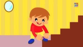 Один Две Пряжки Моя Обувь образовательные песни детские стишки Kids Songs One Two Buckle My Shoe