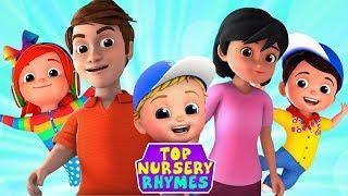 Топ детские стишки | мультфильмы для детей | Top Nursery Rhymes | Junior Squad Russia