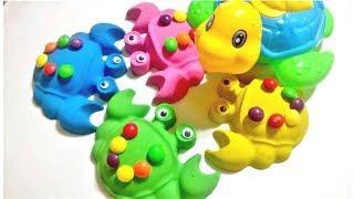 Учим цвета на английском языке для детей Kinetic Sand Развивающее видео для детей