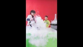Крио-взрыв | День рождения в научном стиле | Научное шоу профессора Стекляшкиной | Курган