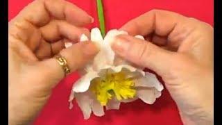 Как Сделать Цветы Бумаги Своими Руками Учебник Ремесла. Подарки Поделки Из Бумаги Оригами с Детьми!