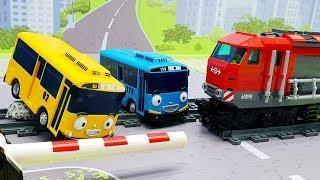 Видео для детей с игрушками Тайо - Забитые правила! Развивающие новые мультики про машинки 2019