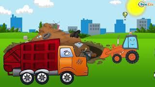 Мультик про Машинки для детей Эвакуатор Развивающие мультфильмы для детей