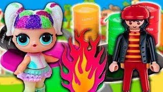 Мультики с игрушками для детей сборник! Детские мультфильмы про КУКЛЫ ЛОЛ для девочек