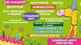 Организация детских праздников. Аниматоры на День Рождения Ребенка