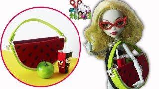 СУМКА АРБУЗ ДЛЯ КУКОЛ, АКСЕССУАРЫ ДЛЯ Monster High, Barbie/Muza Rukodeliya