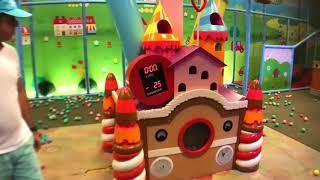 Дом Котенка - Детская Игровая Площадка Для Детей
