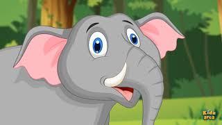 Песня про слона - Детские песни - Мультфильмы