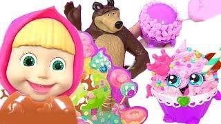 Маша и Медведь Мультики! Угощение на День Рождения СВОИМИ РУКАМИ! Sweetlings Новые Серии 2017 года