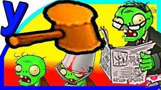 ПРоХоДиМеЦ Прихлопывает ЗОМБИ Отбойным МОЛОТКОМ! #328 Мультик ИГРА Детям - Растения против ЗОМБИ