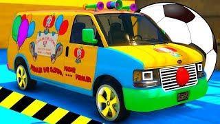 Мультики про Машинки для Малышей. Веселые Цветные Машинки мультфильмы. Песенки для детей