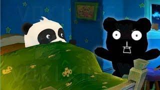 Малыш Панда Игры с Тенью.Преодолей Свой Страх Темноты.Мультик Игра для Детей и Малышей