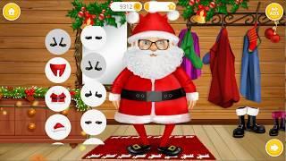 Игра - мультик про зиму Новая одежда для Деда Мороза 2019
