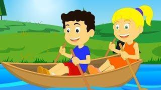 Row Row Row Your Boat | детские видео | детские песни | детская рифма | Children Songs
