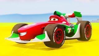Мультики про Машинки Франческо Бернулли Тачки Цветные Машинки Детские Песенки Мультики для Детей