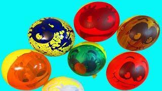 Воздушные Шары Учим цвета с шариками Учимся рисовать �