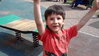 Крым.Детская площадка.Сhildren's Playground Crimea  Bakhchysarai.