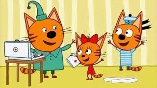 Три кота. Развивающие Мультики. Детские  игры Топ 5