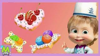 Маша и Медведь Игры для Детей.Готовим Печенья.Самый Лучший Кулинар-это Маша