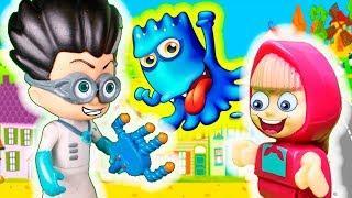 Мультик для детей с игрушками - Герои в масках и машинки Тачки - Видео про игрушки для малышей