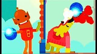Bowmasters #14 Мультфильм Игра про ДУЭЛЬ ГЕРОЕВ Игровой мультик для детей #Мобильные игры