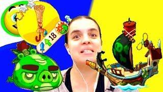 БолтушкА ВеселушкА ПУТЕШЕСТВУЕТ С Птичками на КОРАБЛЕ! #229 ИГРА для ДЕТЕЙ