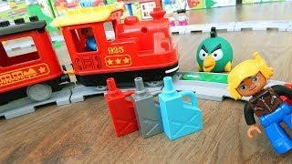Поезда мультики про машинки игрушки. Город машинок 284 - АЗС. Мультфильмы для детей видео mirglory