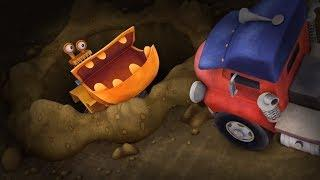 Мультики - Трактаун - Все серии подряд - Мультфильмы про машинки для детей