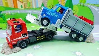 Мультики для детей с машинками - Ответственность на работе! Мультфильмы Приключения игрушек онлайн