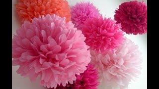 Как Сделать Подарок Маме Учителю своими руками День рождения 8 Марта.Цветок Бумага Поделки с детьми