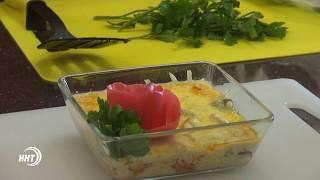 Новый рецепт - Курица с овощами