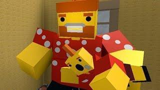 ДЕТИ МАЛЫШИ и ПАПА в ДЕТСКОЙ КОМНАТЕ - ПОБЕГ от игрушек зомби, тачек, лего и танком в ROBLOX #КИД