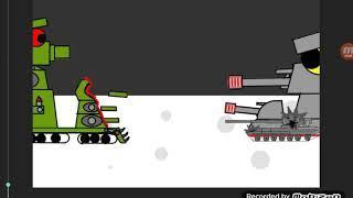 Мультики про танки:кв-44 против нового монстра немцов